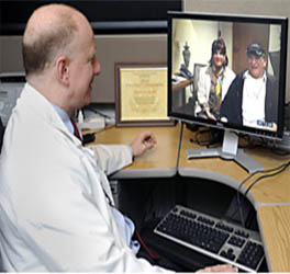 HIPAA-compliant secure online video exam room